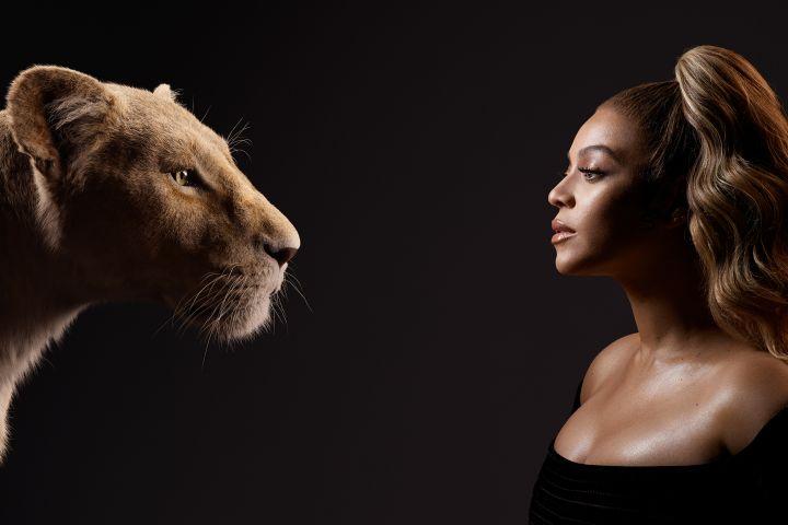 Nala and Beyoncé Knowles-Carter. Kwaku Alston/Disney Enterprises, Inc.