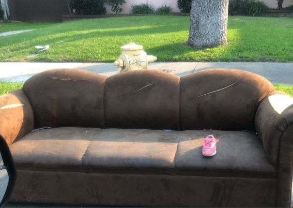 The Sofa And The Shoe