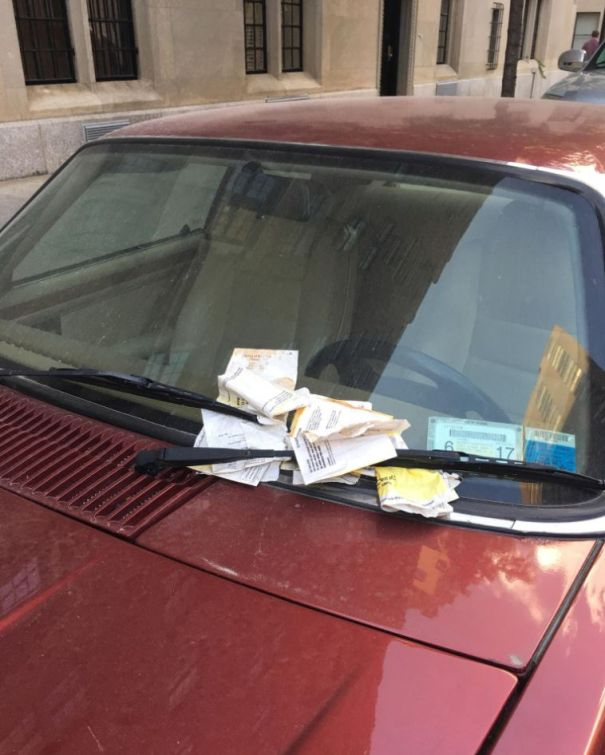 The Time He Shamed Someone For All Of Their Parking Tickets