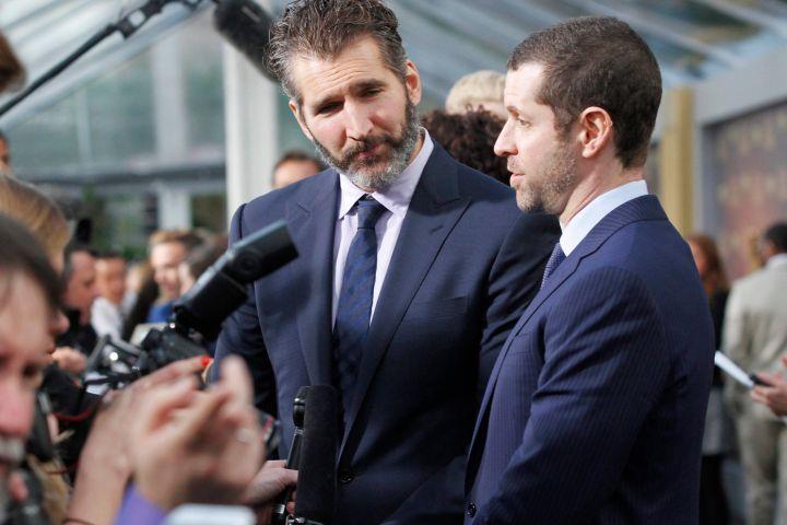 David Benioff and Dan Weiss. Phot: George Nikitin, Invision/AP