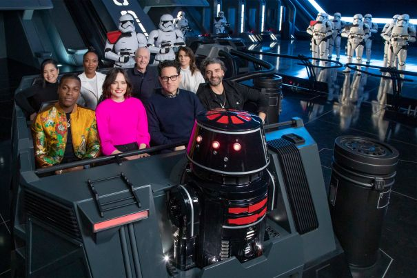 'Star Wars' Cast Gets Sneak Peek At New Disney Parks Attraction