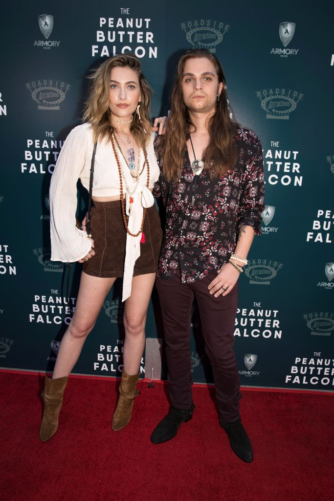 Paris Jackson and Gabriel Glenn arrive for the screening of the film The Peanut Butter Falcon in Los Angeles, California, U.S., August 1, 2019. REUTERS/Monica Almeida