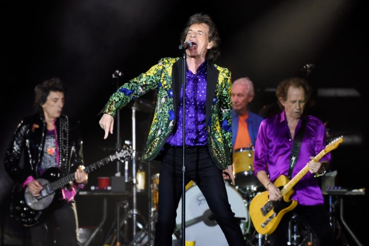 The Rolling Stones. Photo: Chris Pizzello/Invision/AP