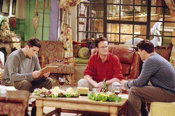 The One Where Chandler Is Scared Of Dogs