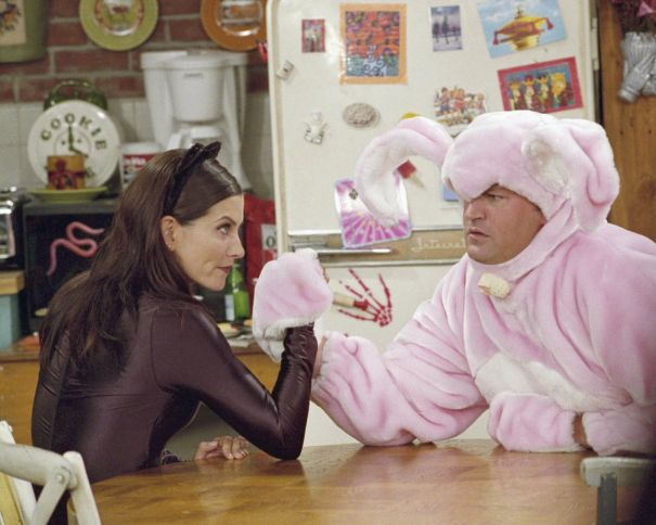 The One With The Bunny Costume