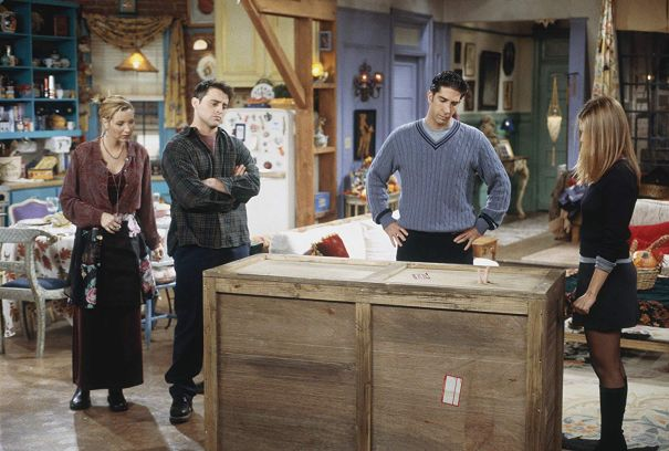 The One With Chandler's Box