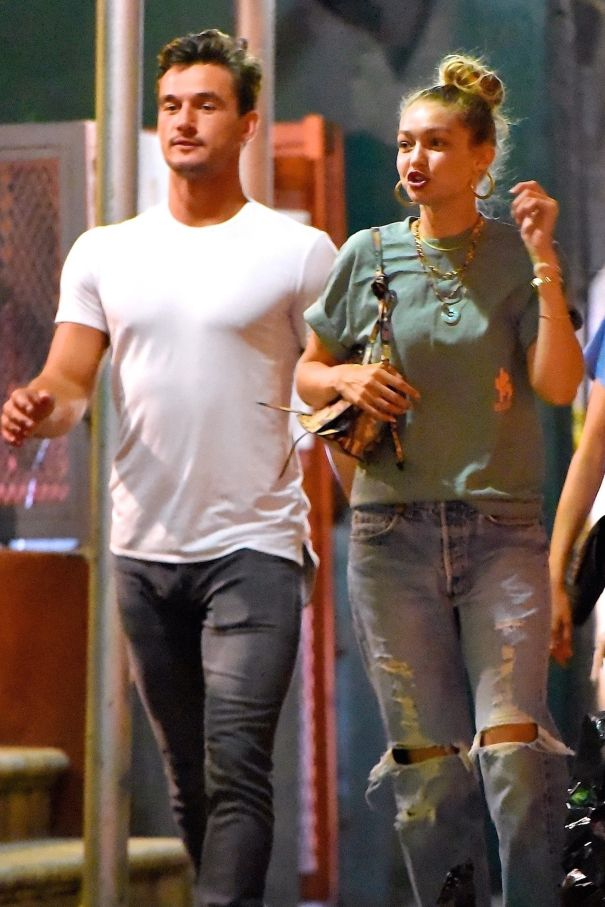 Gigi Hadid And Tyler Cameron Take Their Love To The Streets Of NYC