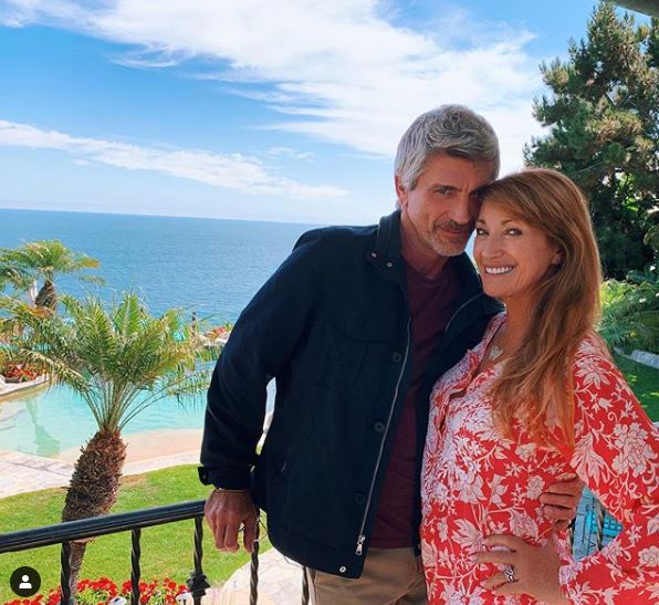 Jane Seymour And Joe Lando Have A Mini 'Dr. Quinn Medicine Woman' Reunion