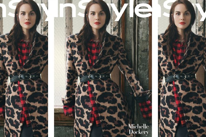 Michelle Dockery. Photo: Robbie Fimmano for InStyle