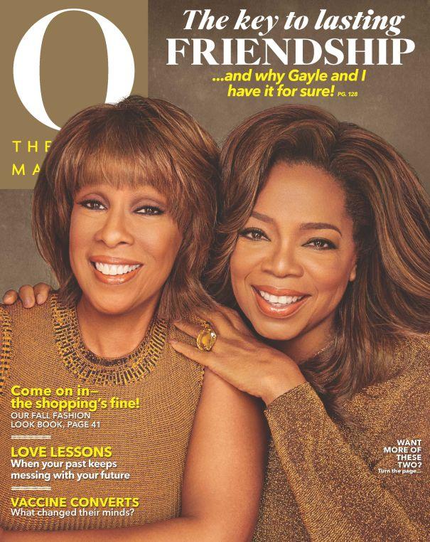Oprah And Gayle King - O, The Oprah Magazine