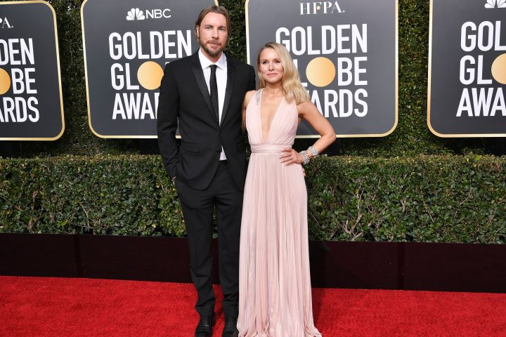 Mandatory Credit: Photo by Rob Latour/Shutterstock (10048066op) Dax Shepard and Kristen Bell 76th Annual Golden Globe Awards, Arrivals, Los Angeles, USA - 06 Jan 2019