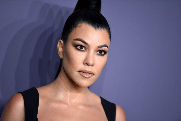 Mandatory Credit: Photo by Stephen Lovekin/Shutterstock (10095653hl) Kourtney Kardashian amfAR Gala, Arrivals, Fall Winter 2019, New York Fashion Week, USA - 06 Feb 2019