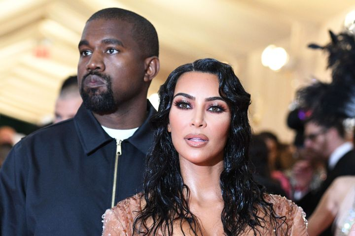 Kanye West and Kim Kardashian. Photo: Richard Young/Shutterstock