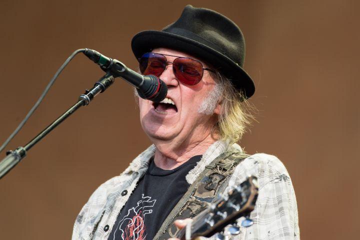 Neil Young - Richard Isaac/Shutterstock