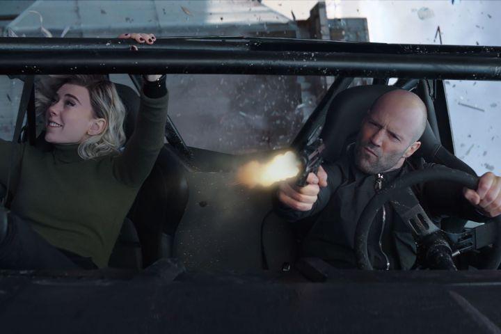 Vanessa Kirby as Hattie Shaw and Jason Statham as Deckard Shaw -  Universal/Kobal/Shutterstock