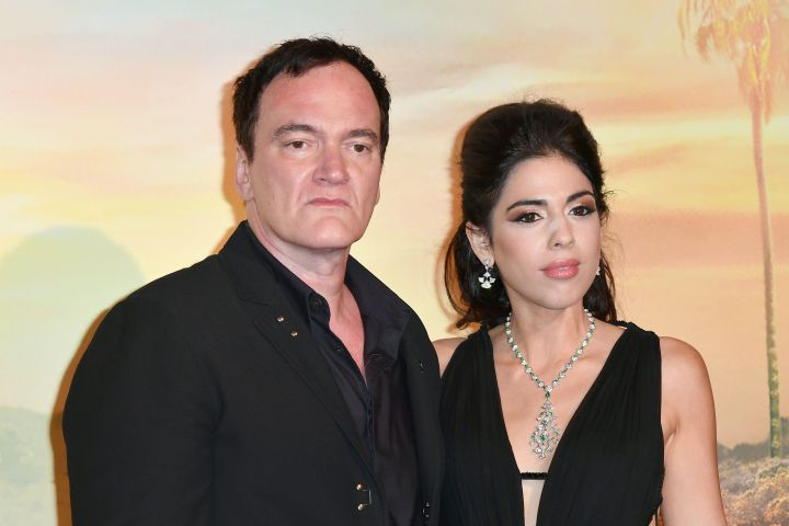 Mandatory Credit: Photo by Maria Laura Antonelli/AGF/Shutterstock (10353131u) Quentin Tarantino and his wife Daniella Pick 'Once Upon A Time In Hollywood' film premiere, Rome, Italy - 02 Aug 2019