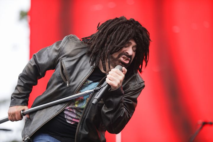 Photo by Greg Chow/Shutterstock (10361388y) Counting Crows - Adam Duritz Outside Lands Festival, Day 1, San Francisco, USA - 09 Aug 2019