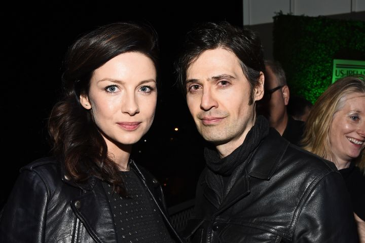 Mandatory Credit: Photo by Michael Buckner/Variety/Shutterstock (8433655r) Caitriona Balfe and Tony McGill 12th Annual Oscar Wilde Awards, Inside, Los Angeles, USA - 23 Feb 2017