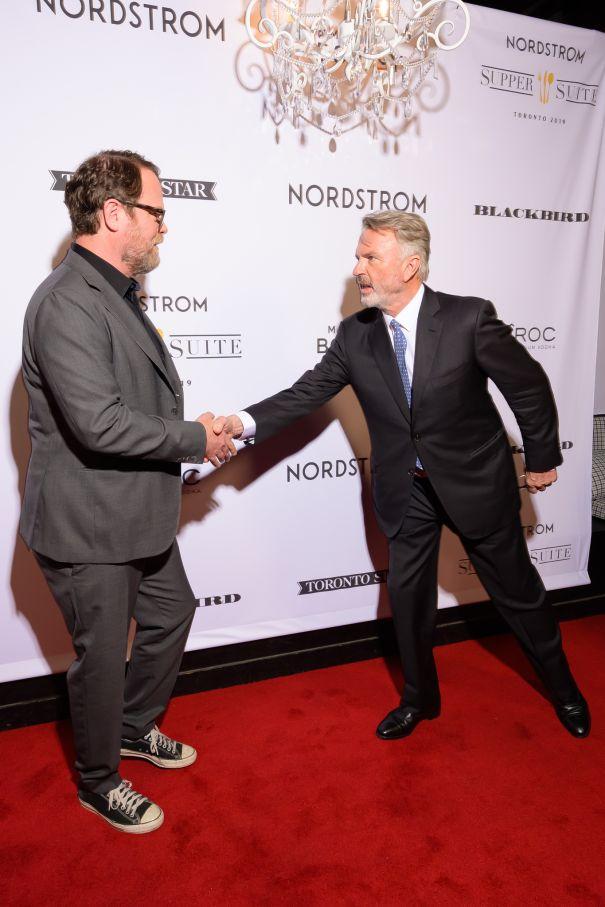 Rainn Wilson And Sam Neill