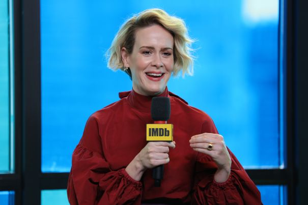 Sarah Paulson For 'The Goldfinch'