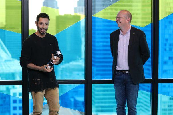 Riz Ahmed Receives The IMDb STARmeter Award