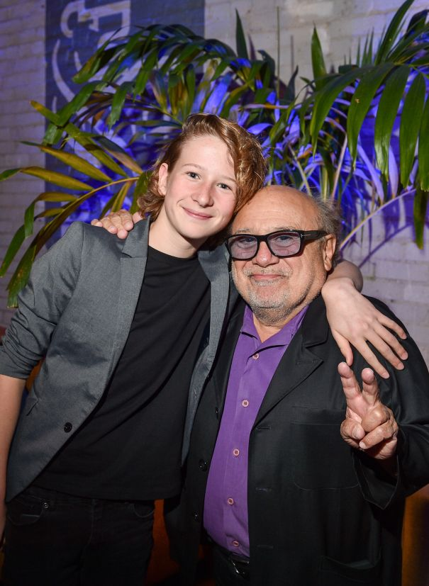 Misha Handley and Danny DeVito