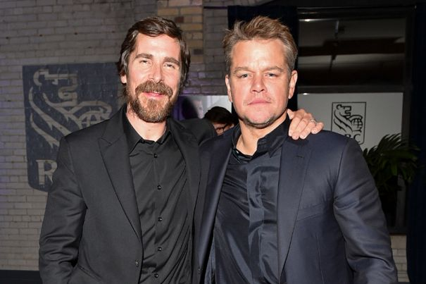 Christian Bale and Matt Damon