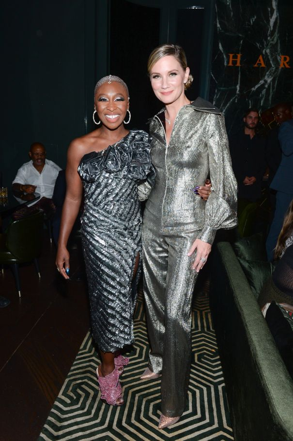 Cynthia Erivo and Jennifer Nettles