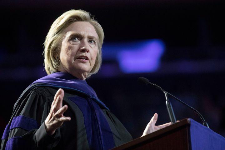 Hillary Clinton. Photo: AP Photo/Mary Altaffer
