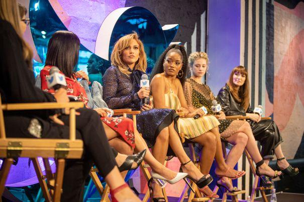 Jennifer Lopez And 'Hustlers' Cast