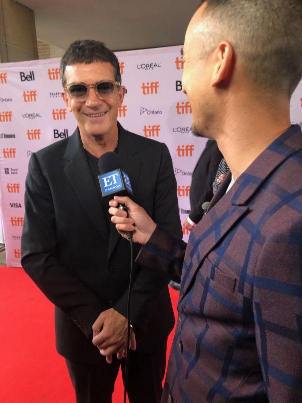 Antonio Banderas At TIFF 2019