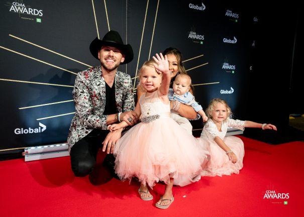 Brett Kissel And Family