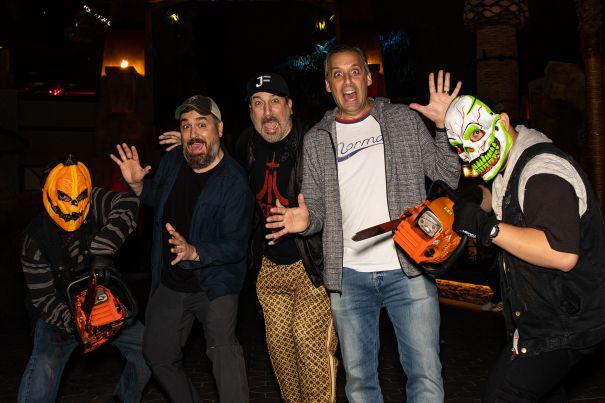 Joey Fatone And The 'Impractical Jokers' Love Halloween