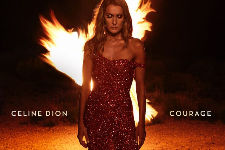 The official artwork for Celine Dion's upcoming studio album, 'Courage,' which drops on Nov. 15, 2019.
