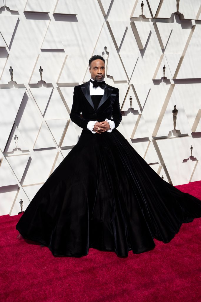 """No one got people talking quite like """"Pose"""" star Billy Porter did this year, starting off with his Christian Siriano tuxedo gown at the 2019 Oscars."""