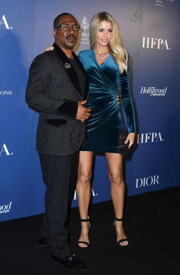 Eddie Murphy And Fiancée Paige Butcher Step Out