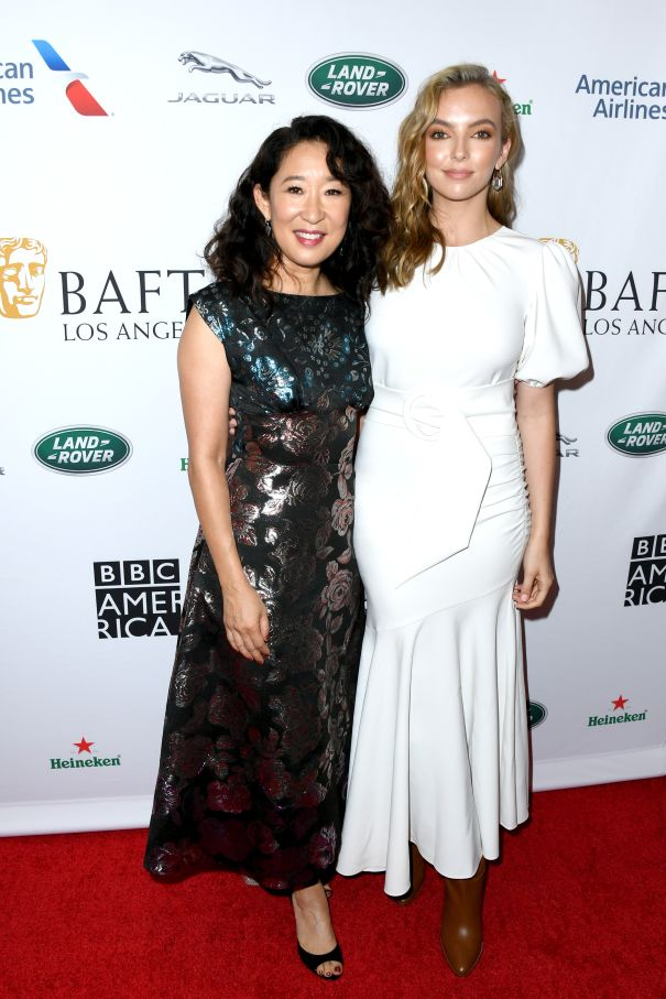 Sandra Oh And Jodie Comer
