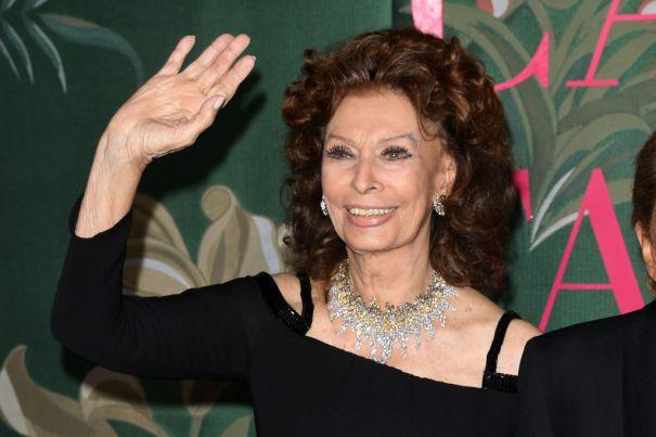 Sophia Loren, 85