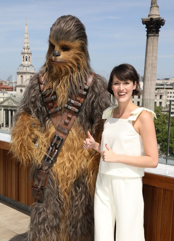 She Played A Droid In 'Star Wars'