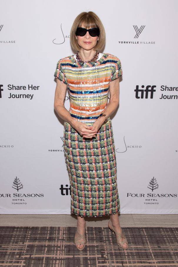 Anna Wintour Honoured With Inaugural Icon Award During TIFF 2019