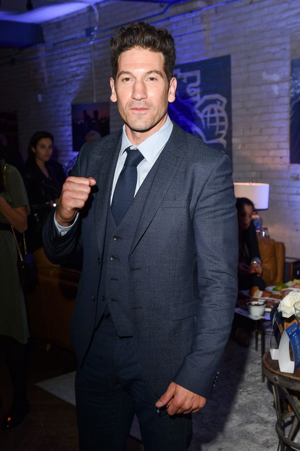 Jon Bernthal Poses For The Camera At TIFF