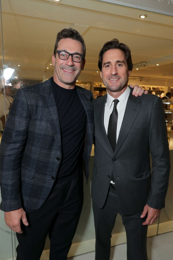 Jon Hamm And Luke Wilson