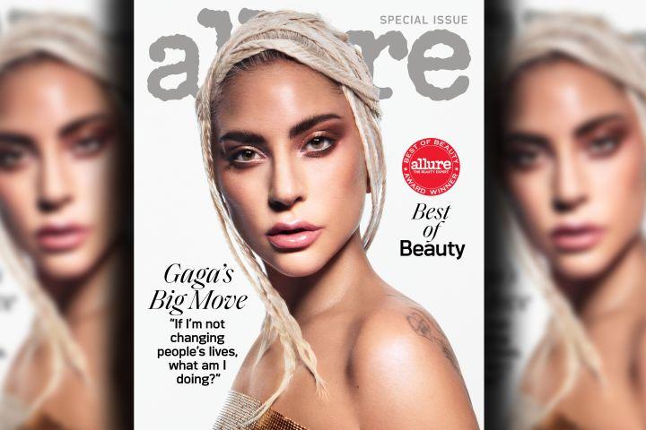 Lady Gaga. Photo: Daniel Jackson for Allure