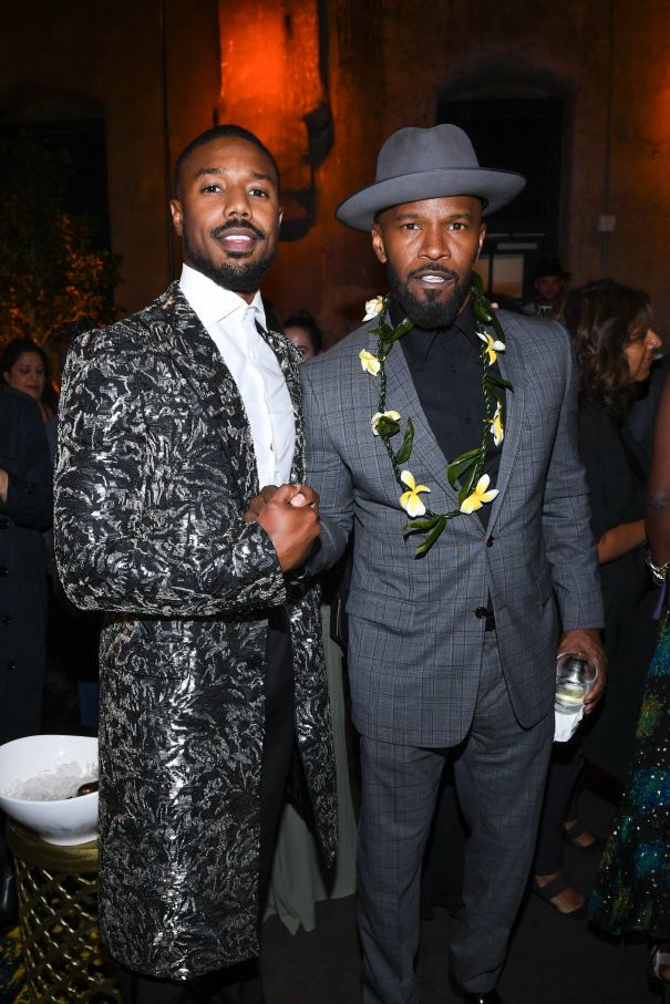 Michael B. Jordan And Jamie Foxx