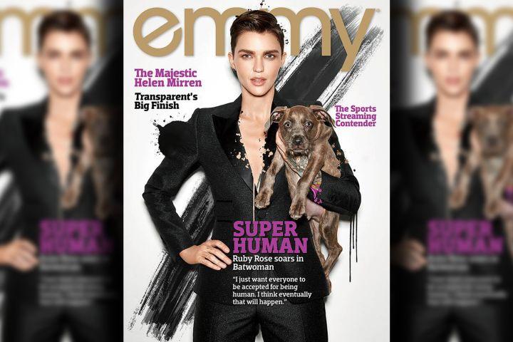 Ruby Rose. Photo: Emmy Magazine