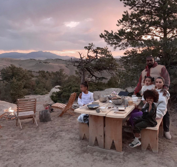 Kim And Kayne Enjoy A Few 'Wyoming Nights'