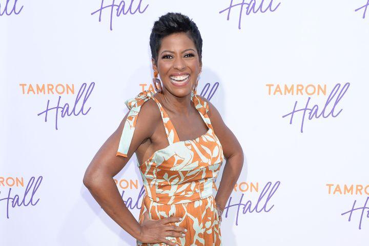 Mandatory Credit: Photo by Broadimage/Shutterstock (10354921em) Tamron Hall ABC's TCA Summer Press Tour, Arrivals, Los Angeles, USA - 05 Aug 2019 Wearing Johanna Ortiz