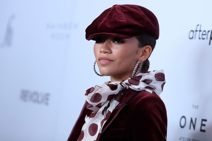 Mandatory Credit: Photo by John Photography/Shutterstock (10402448fq) Zendaya The Daily Front Row Fashion Media Awards, Arrivals, Spring Summer 2020, New York Fashion Week, USA - 05 Sep 2019