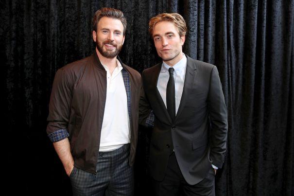 Robert Pattinson And Chris Evans