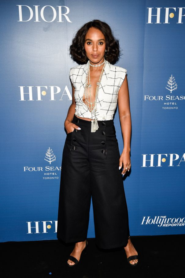 Kerry Washington Goes Glam